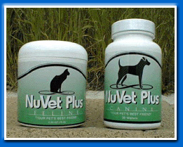 ** NUVET SUPPLIMENTS - ALL LIFE STAGES! **
